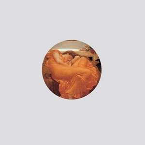 Flaming June  Fredrick Lord Leighton Mini Button