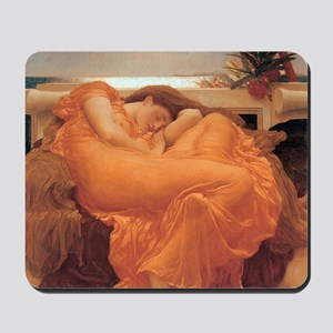 Flaming June  Fredrick Lord Leighton Mousepad