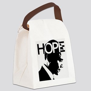 Hope Obama Canvas Lunch Bag