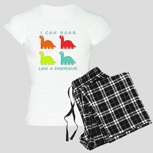 4 Dinosaurs Women's Light Pajamas