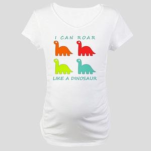 4 Dinosaurs Maternity T-Shirt