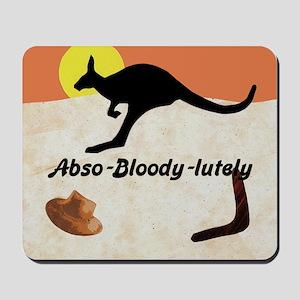 Kagaroo Jillo, Abso-bloody-lutely Mousepad
