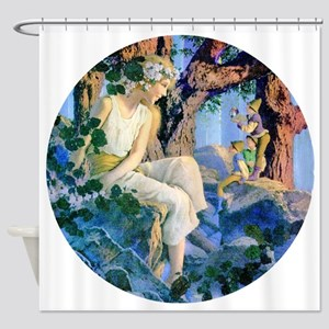 PARRISH GNOMES AND FAIRY PRINCESS_R Shower Curtain