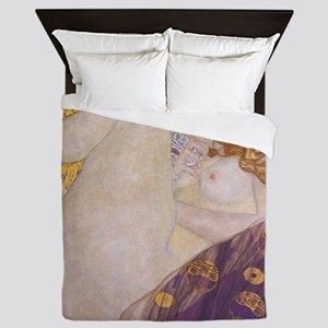 KlimtDanaeOriginal1 Queen Duvet