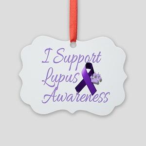 lupus2 Picture Ornament