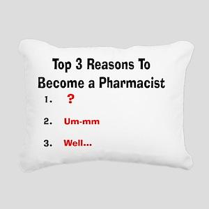 Pharmacist Humor Rectangular Canvas Pillow