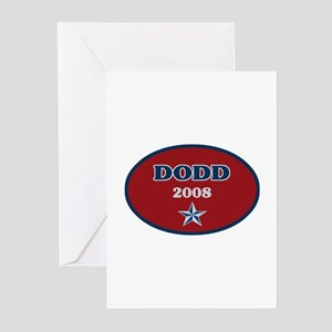 Dodd for President 2008 Greeting Cards (Package of