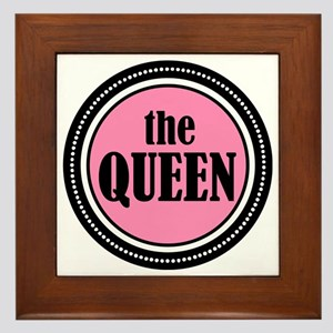 theQUEEN Framed Tile
