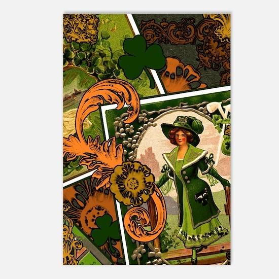 VINTAGE-IRISH-B-IPAD-SLEE Postcards (Package of 8)