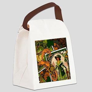 VINTAGE-IRISH-B-IPAD-SLEEVE Canvas Lunch Bag