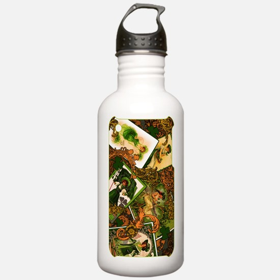 VINTAGE-IRISH-IPHONE-3 Water Bottle