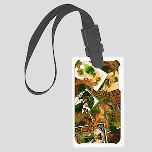 VINTAGE-IRISH-IPHONE-3G- Large Luggage Tag
