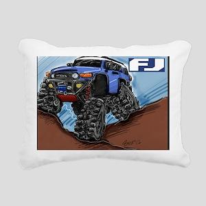 fjdrawingVoodoocafe Rectangular Canvas Pillow