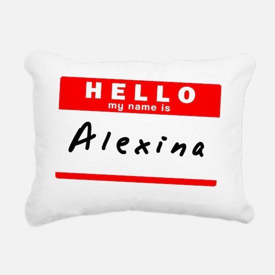Alexina Rectangular Canvas Pillow