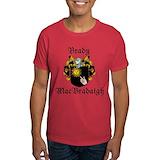 Brady coat of arms Mens Classic Dark T-Shirts