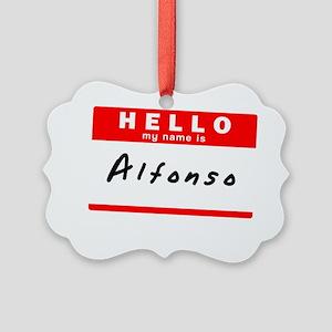 Alfonso Picture Ornament