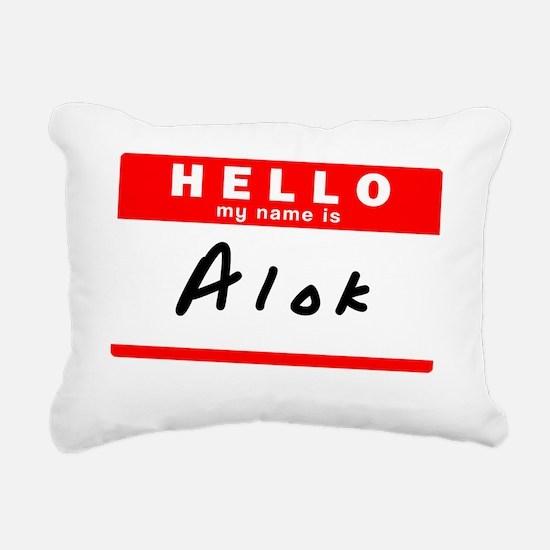 Alok Rectangular Canvas Pillow