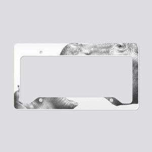 Hippo  Baby (12x20) Car Magne License Plate Holder