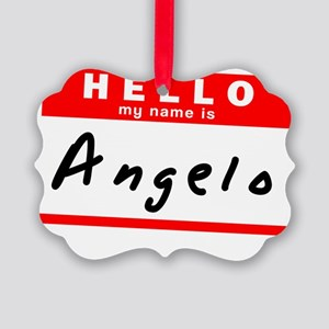 Angelo Picture Ornament