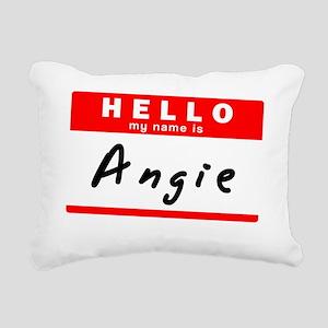 Angie Rectangular Canvas Pillow