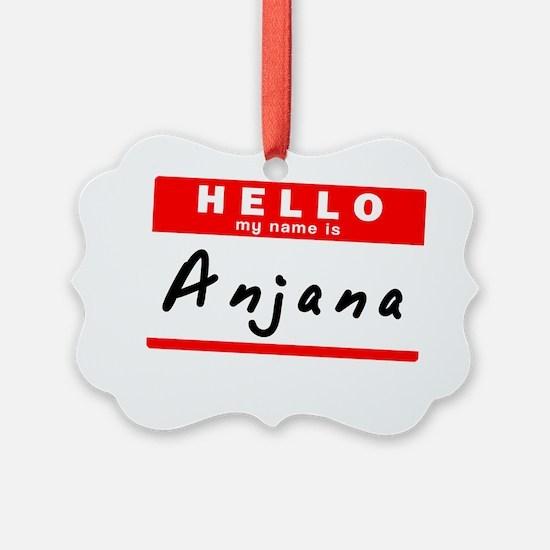 Anjana Ornament