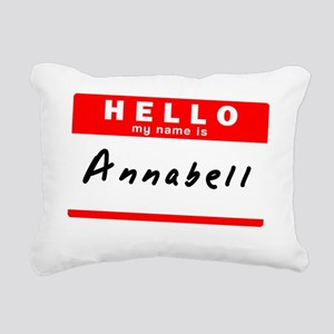 Annabell Rectangular Canvas Pillow