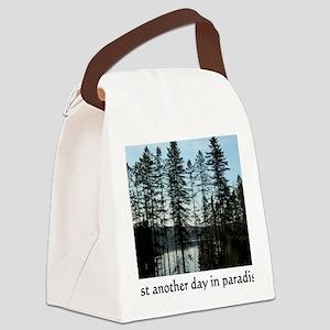 paradise Canvas Lunch Bag