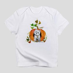 Autumn Pumpkin Westie T-Shirt