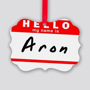 Aron Picture Ornament