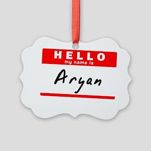 Aryan Picture Ornament