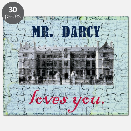 newcard 073 mr darcy loves you Puzzle