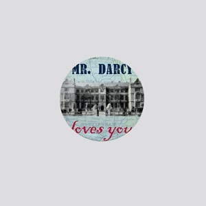 newcard 073 mr darcy loves you Mini Button