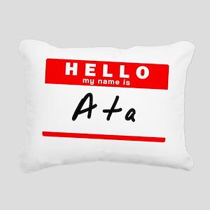 Ata Rectangular Canvas Pillow