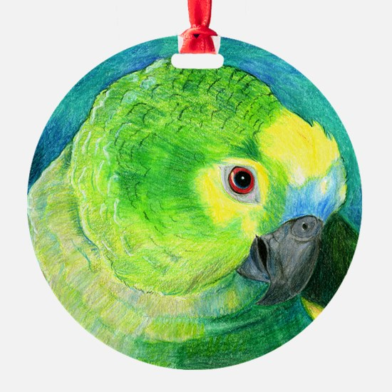 Blue-Fronted Amazon Ornament