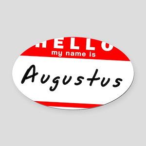 Augustus Oval Car Magnet
