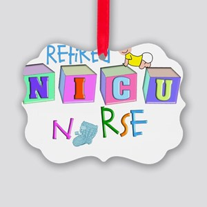 retire NICU Nurse Picture Ornament