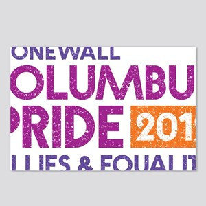 Pride 2012 Logo LARGE Postcards (Package of 8)
