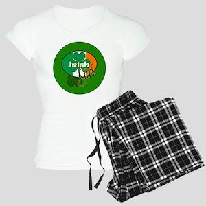 IRISH-GIRL-3-INCH-BUTTON Women's Light Pajamas