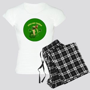 KISS-MY-ASS-BUTTON Women's Light Pajamas