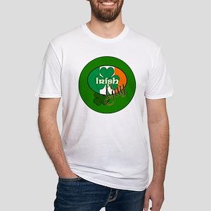 IRISH-GUY-3-INCH Fitted T-Shirt