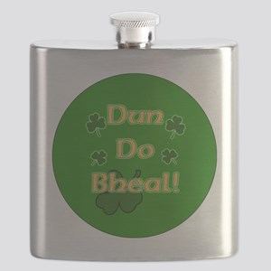SHUT-YOUR-MOUTH-BUTTON Flask