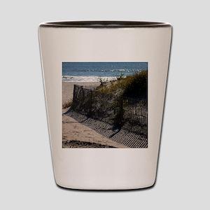 dune shadows Shot Glass