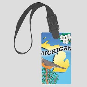 MICHIGAN-iPad Sleeve Large Luggage Tag