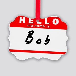 Bob Picture Ornament