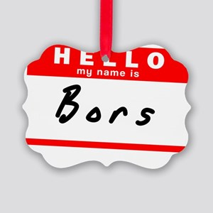 Bors Picture Ornament
