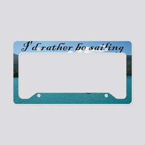 clutch bag License Plate Holder