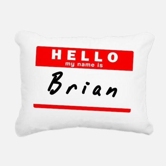 Brian Rectangular Canvas Pillow