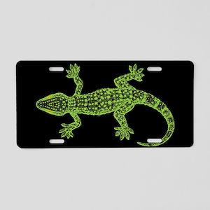 Gecko Aluminum License Plate