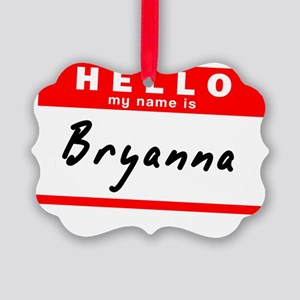 Bryanna Picture Ornament