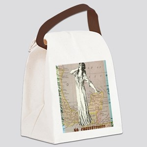 newCard no coffee Canvas Lunch Bag